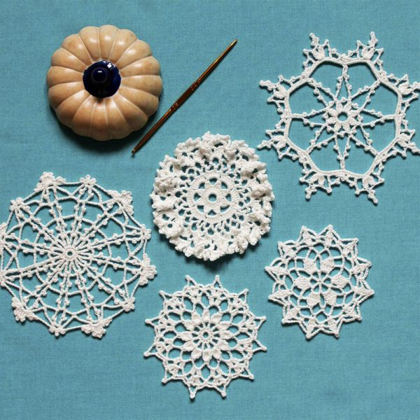 Learn How To Read Pattern And Make Doily