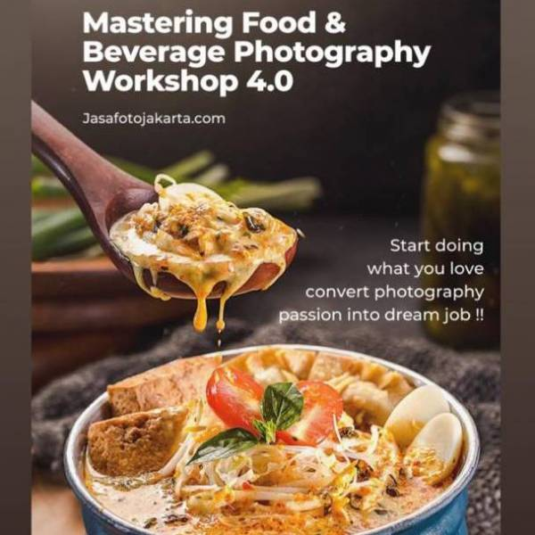 (2 Days) Mastering Food & Beverage Photography