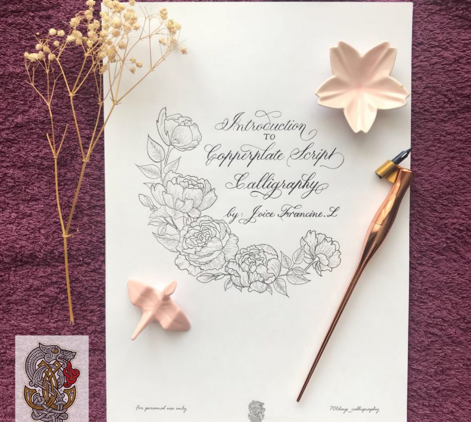 copperplate calligraphy jakarta