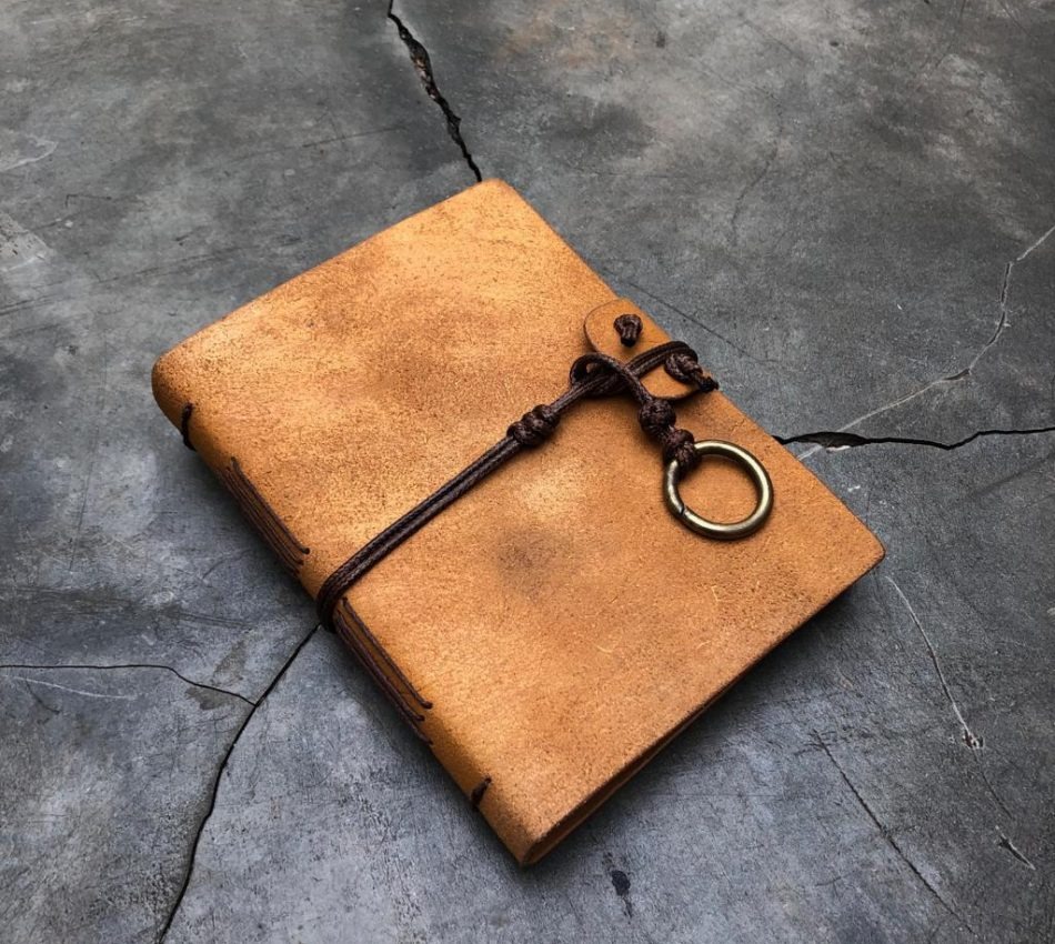 Learn How to Make Your Own Leather Journal