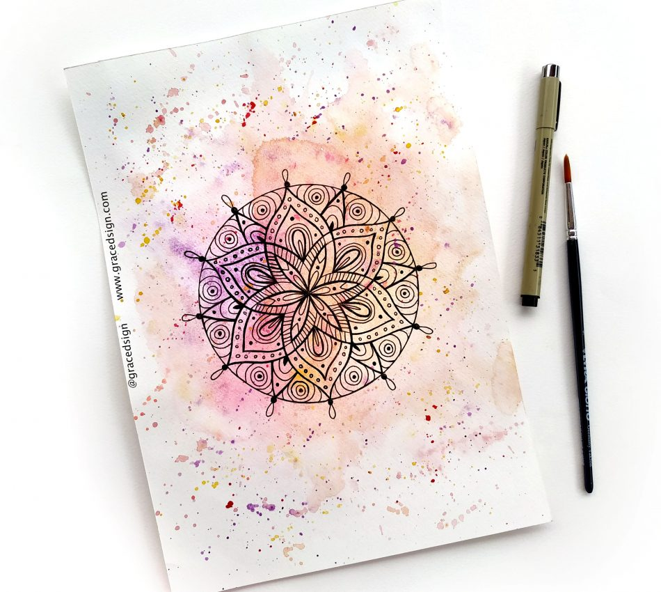 Learn How to Draw Mandala