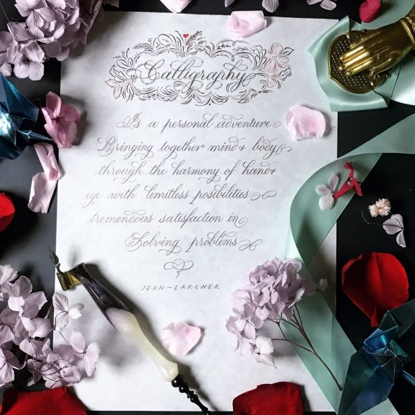(Bundling Package) Learn All About Copperplate Calligraphy