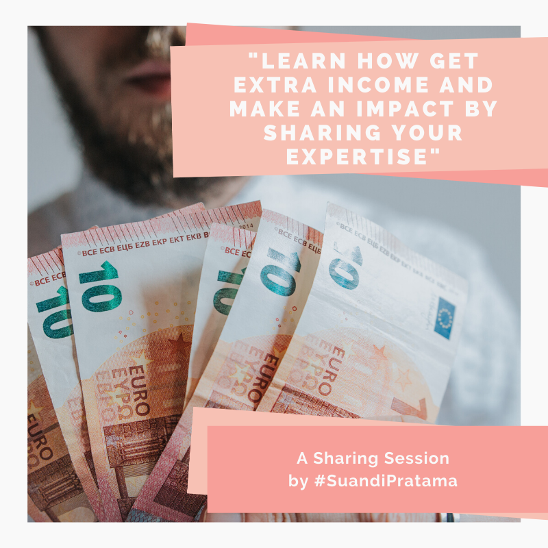 Learn How To Get Extra Income And Make An Impact By Sharing Your Expertise