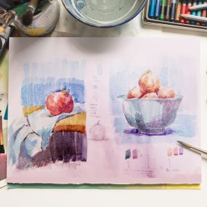 Learn How To Paint Impressionism (Watercolor Painting)