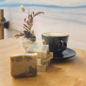 Learn How To Make Basic Coffee Scrub Soap Bar