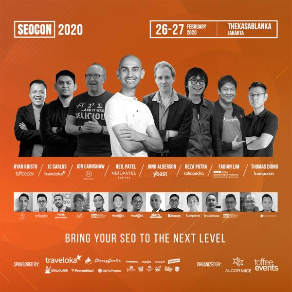 Learn All About Search Engine Optimization (SEO Conference 2020 Jakarta)