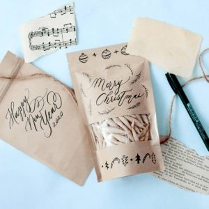 Learn The Art of Calligraphy and Simple Doodle for Packaging