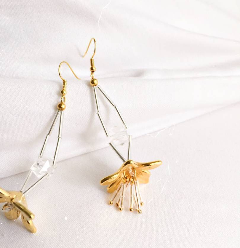 Learn How To Make Your Own Earrings Using Strings