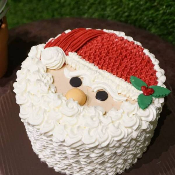 Learn How To Docarate Christmas Santa Cake