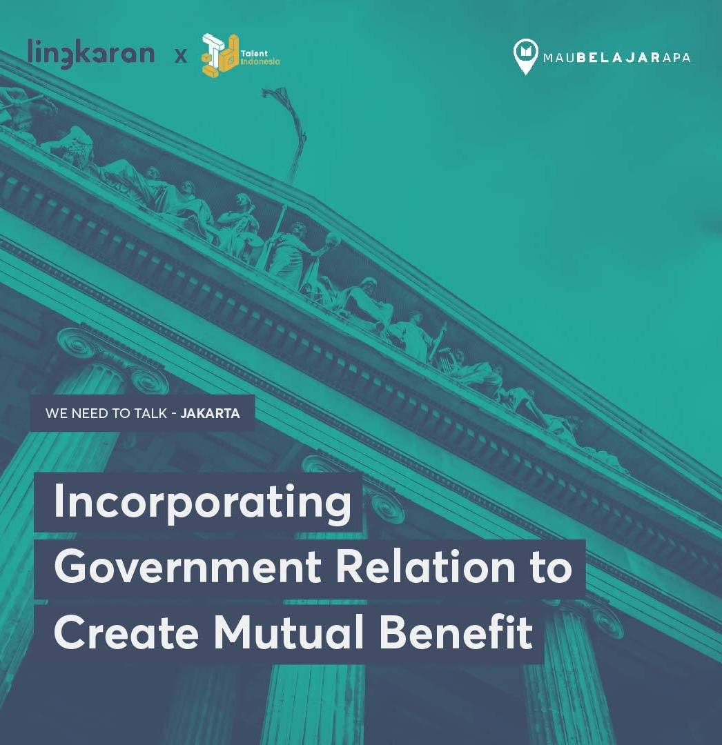 how to incorporate government relation to create mutual benefit
