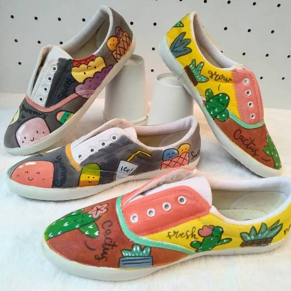 Learn How To Custom Paint Your Own Shoes