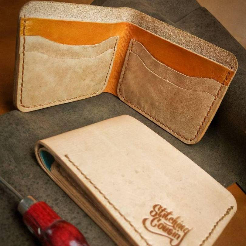 Learn How To Make Leather Billfold Wallet