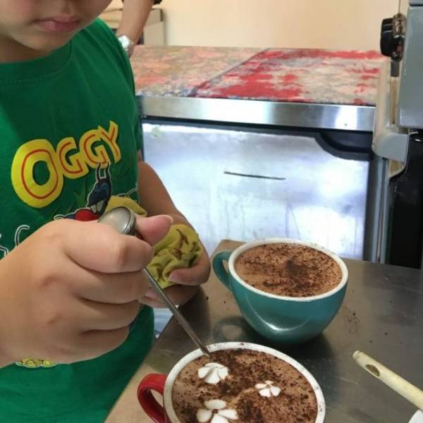 Learn All About Hot Chocolate Etching Art