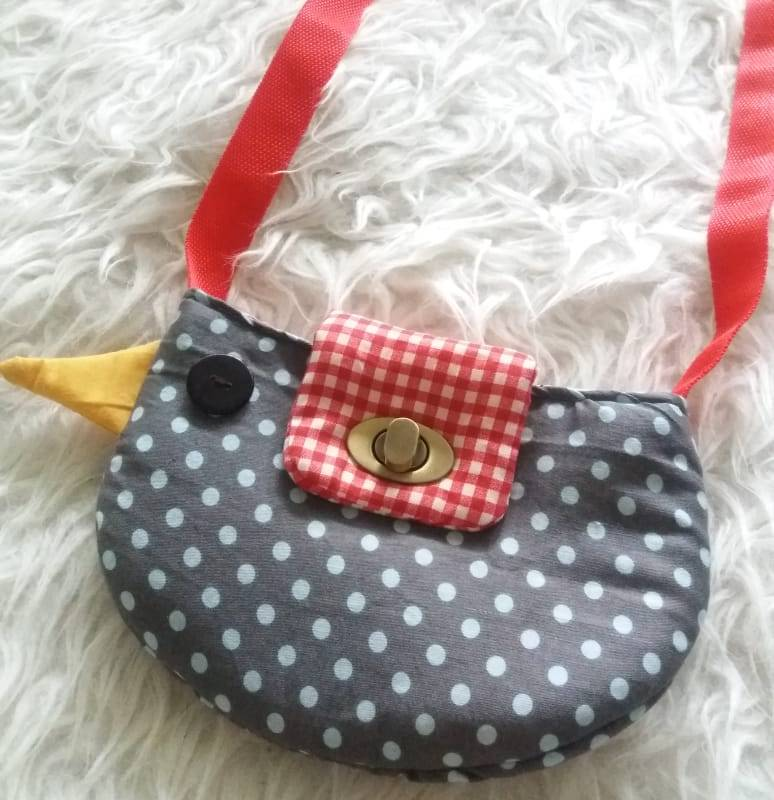Learn How To Sew Bird Sling Bag