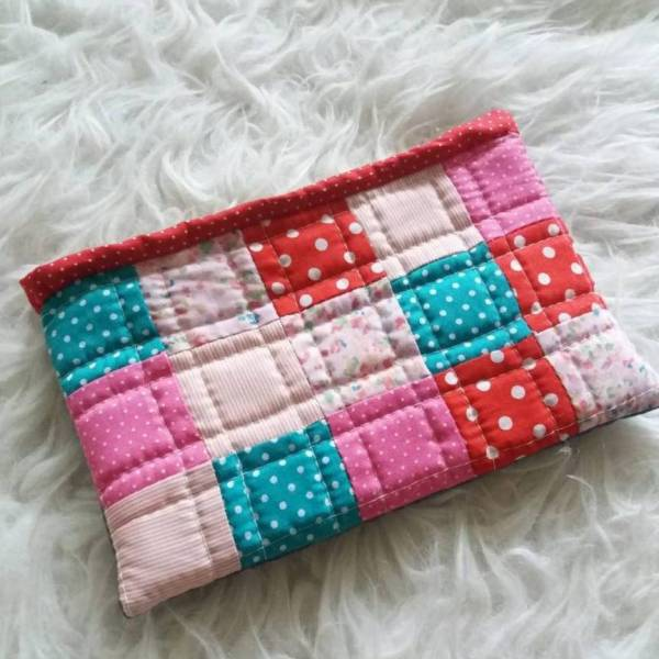 Learn How To Sew Unique Patchwork Pouch