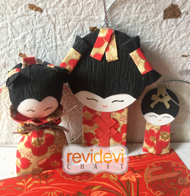 oriental washi papercraft revidevi