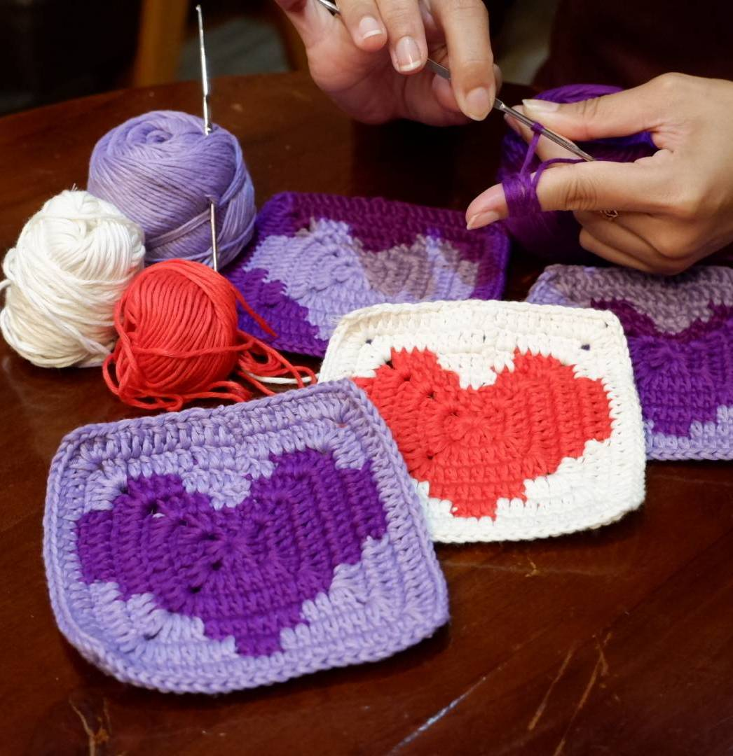 Learn How To Make Crochet Valentine