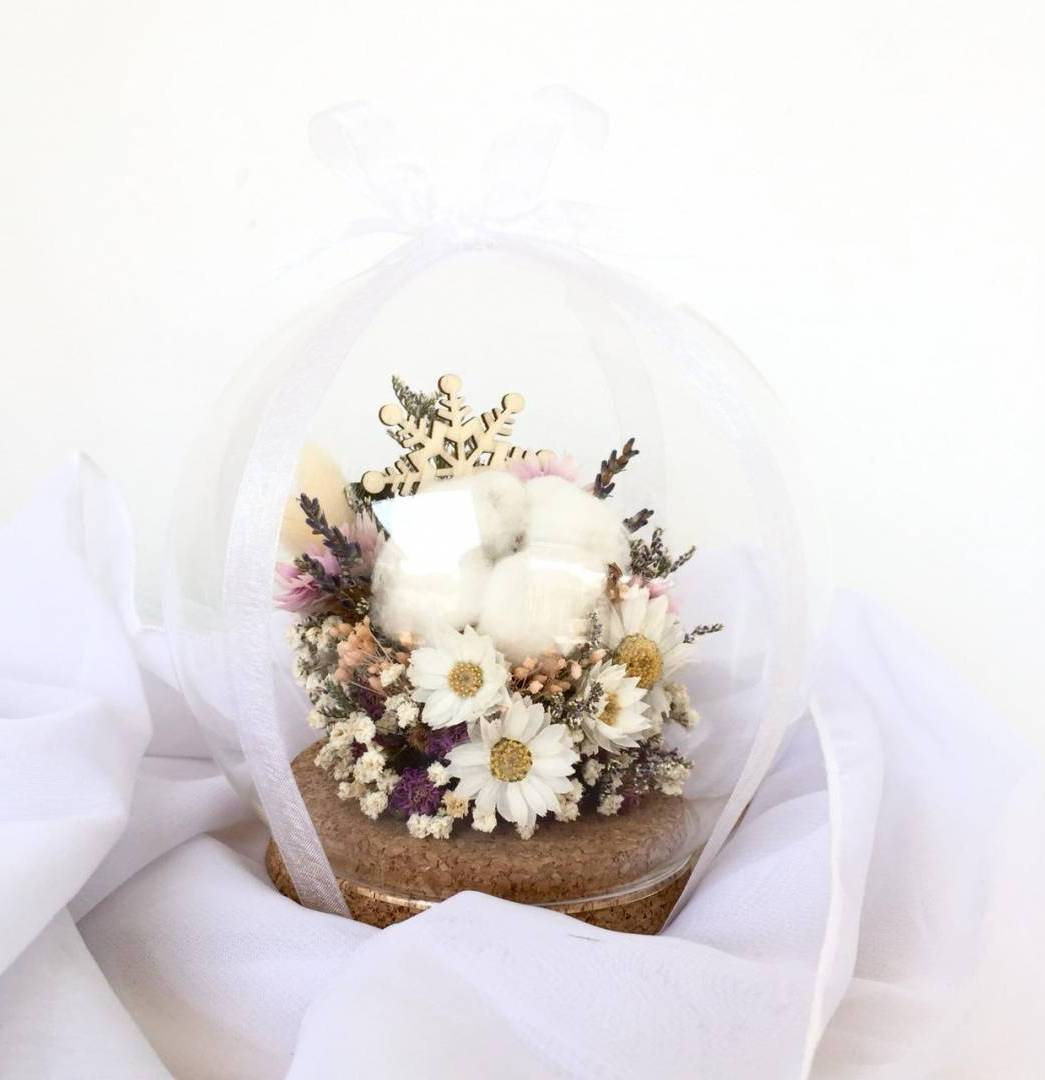 Learn How To Make Dried Flower Glass Globe