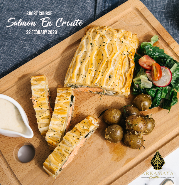 Learn How To Make Salmon Encroute And Puff Pastry