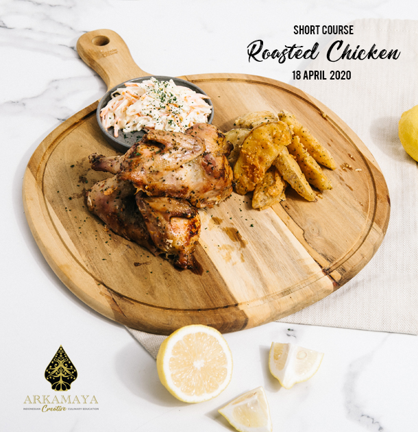 Learn How To Cook Roasted Chicken With Potato Wedges