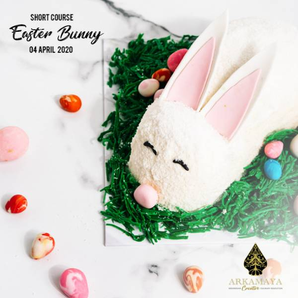 Learn How To Make Easter Bunny Cake