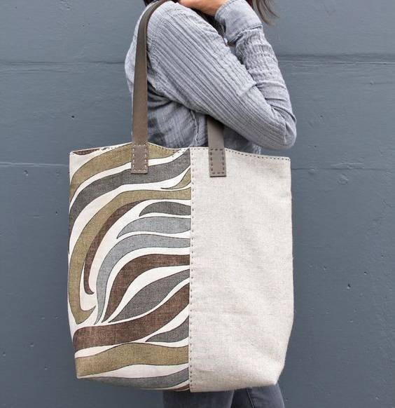 Learn How To Sew Your Own Two Sides Tote Bag