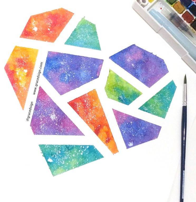 Learn How To Watercolour Paint (Available For Kids And Adults)