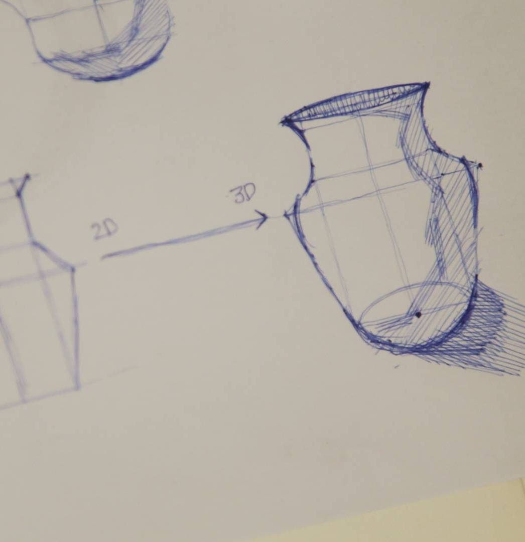Learn How To Draw 3-Dimensional Sketch