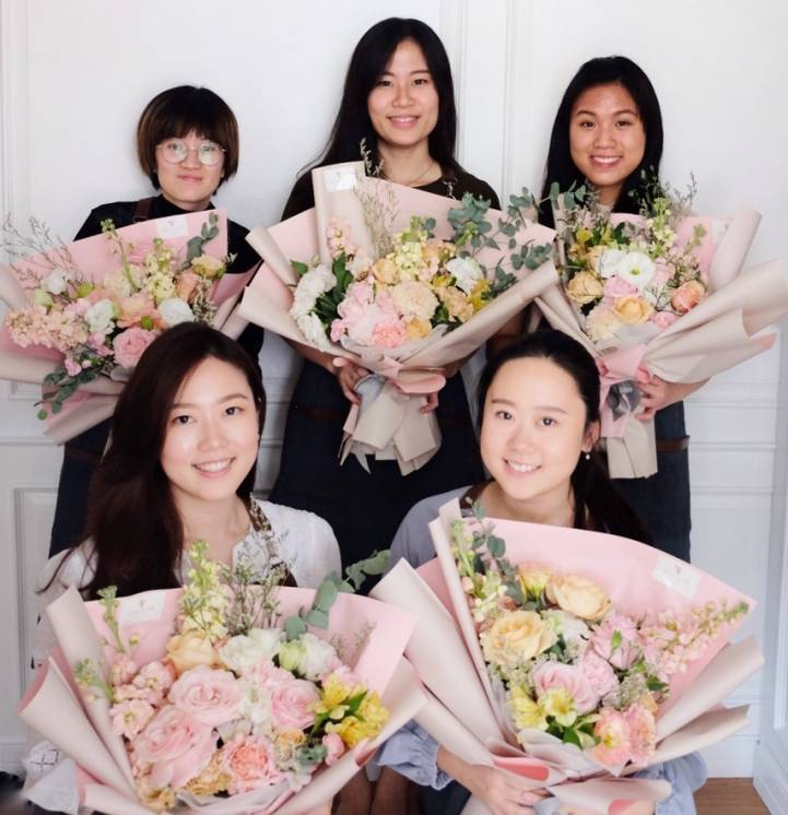 Learn How to Make Korean Bouquet and Centerpiece