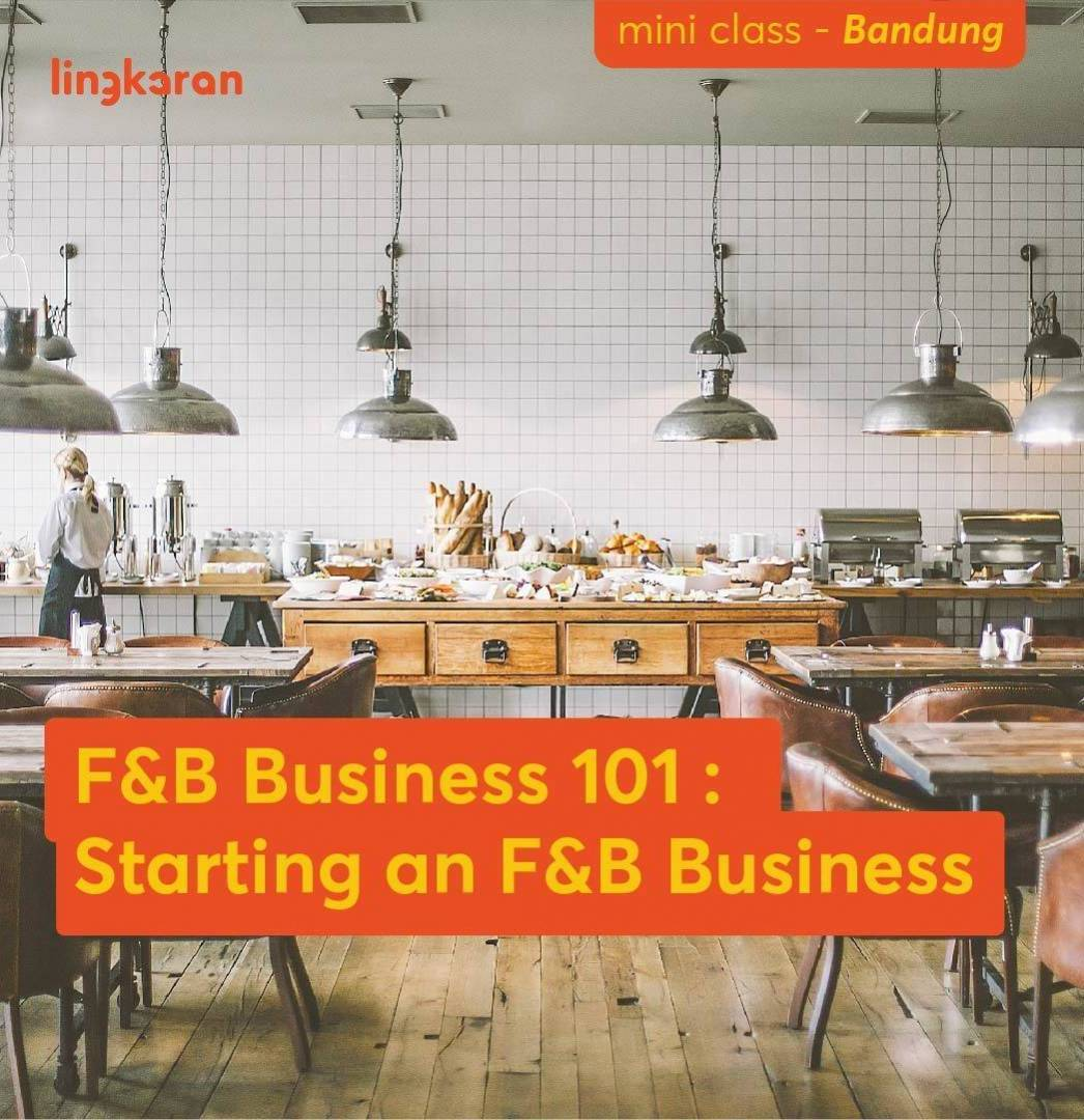 Learn How To Starting A F&B Business