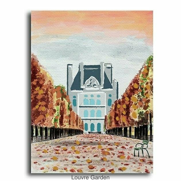 (Acrylic Painting) Learn How To Paint Autumn Themes