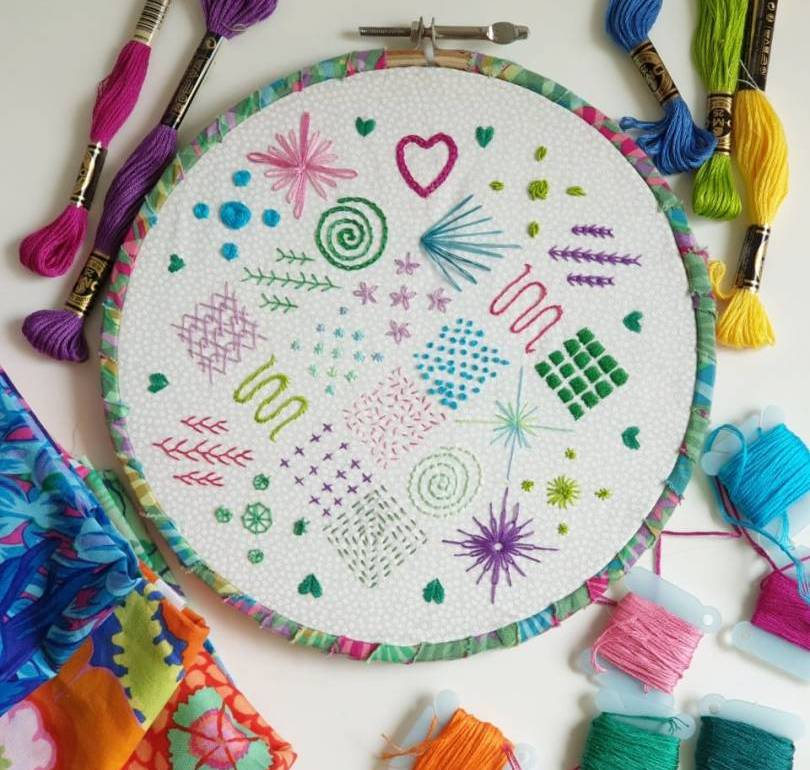 Learn Basic Hand Embroidery