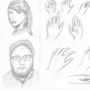 Learn How To Drawing Face and Hands (3 Days Session)