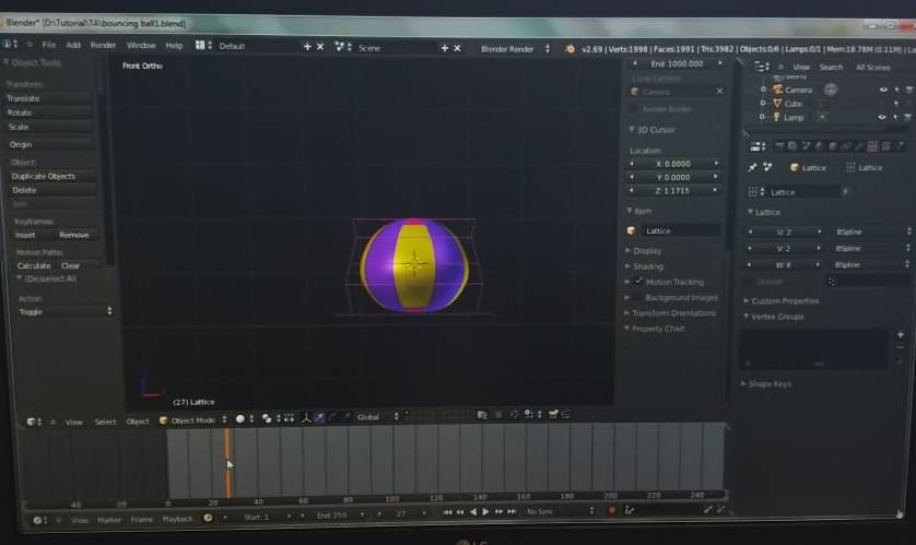 Learn How To Make Bouncing Ball Animation.