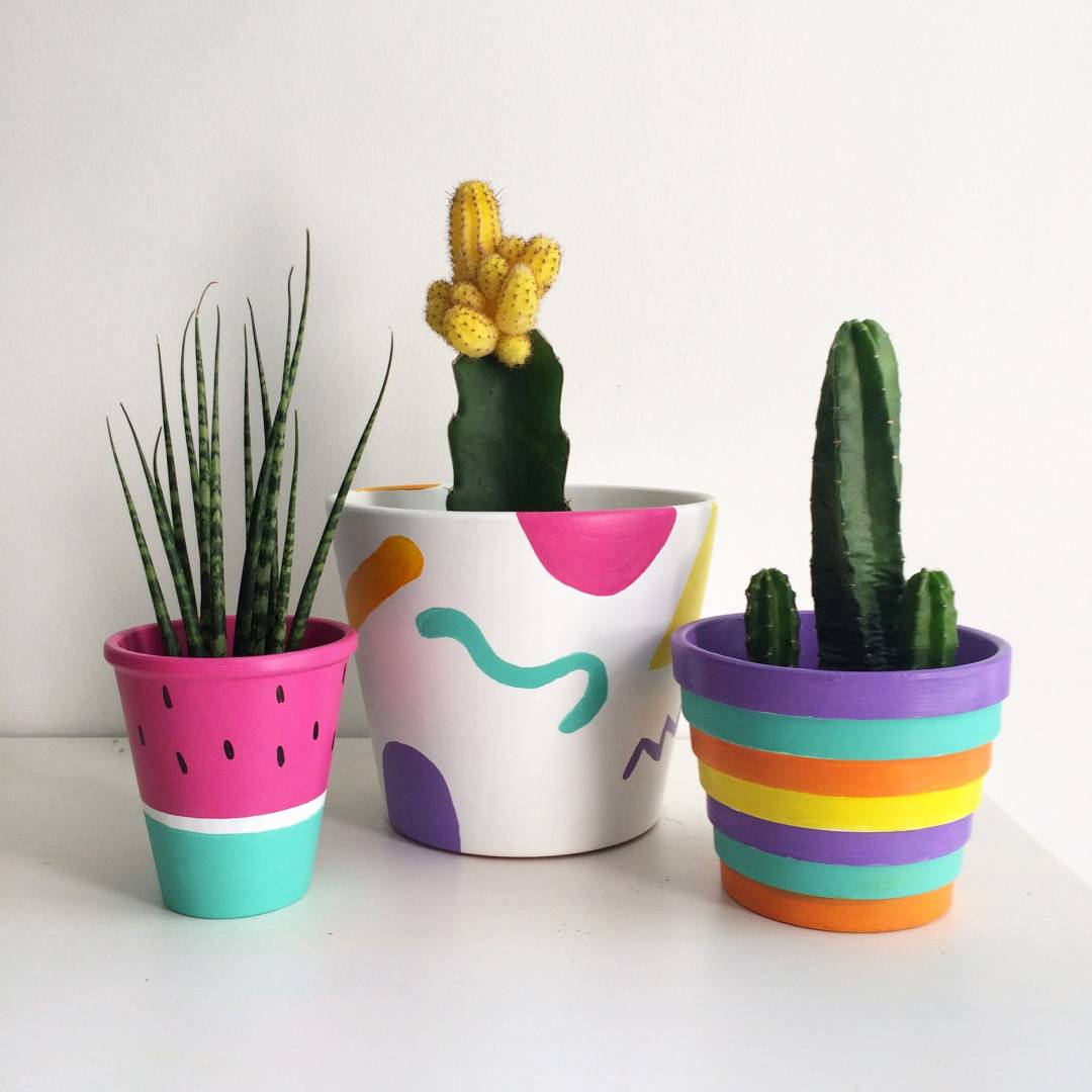 Learn How To Paint In Succulent Pot