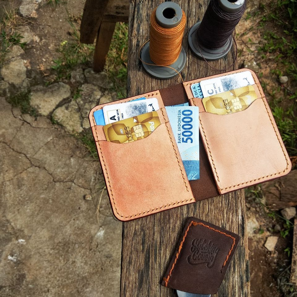 Learn How To Make Leather Vertical Wallet