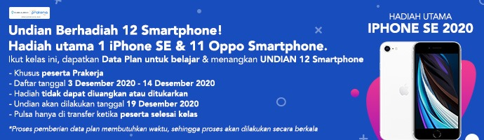 Data Plan Campaign with Digital Marketist Indonesia
