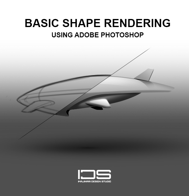 Learn About Basic Shape Rendering in Photoshop (Photoshop Interface, Form, Light And Shadows)