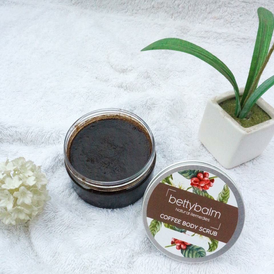 Learn How To Make Natural Coffee Body Scrub