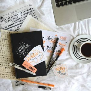 Learn All About Hand Lettering With Brush Pen