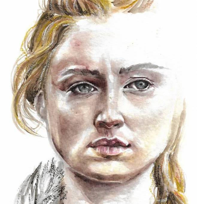 Learn How To Paint Basic Watercolor Portrait