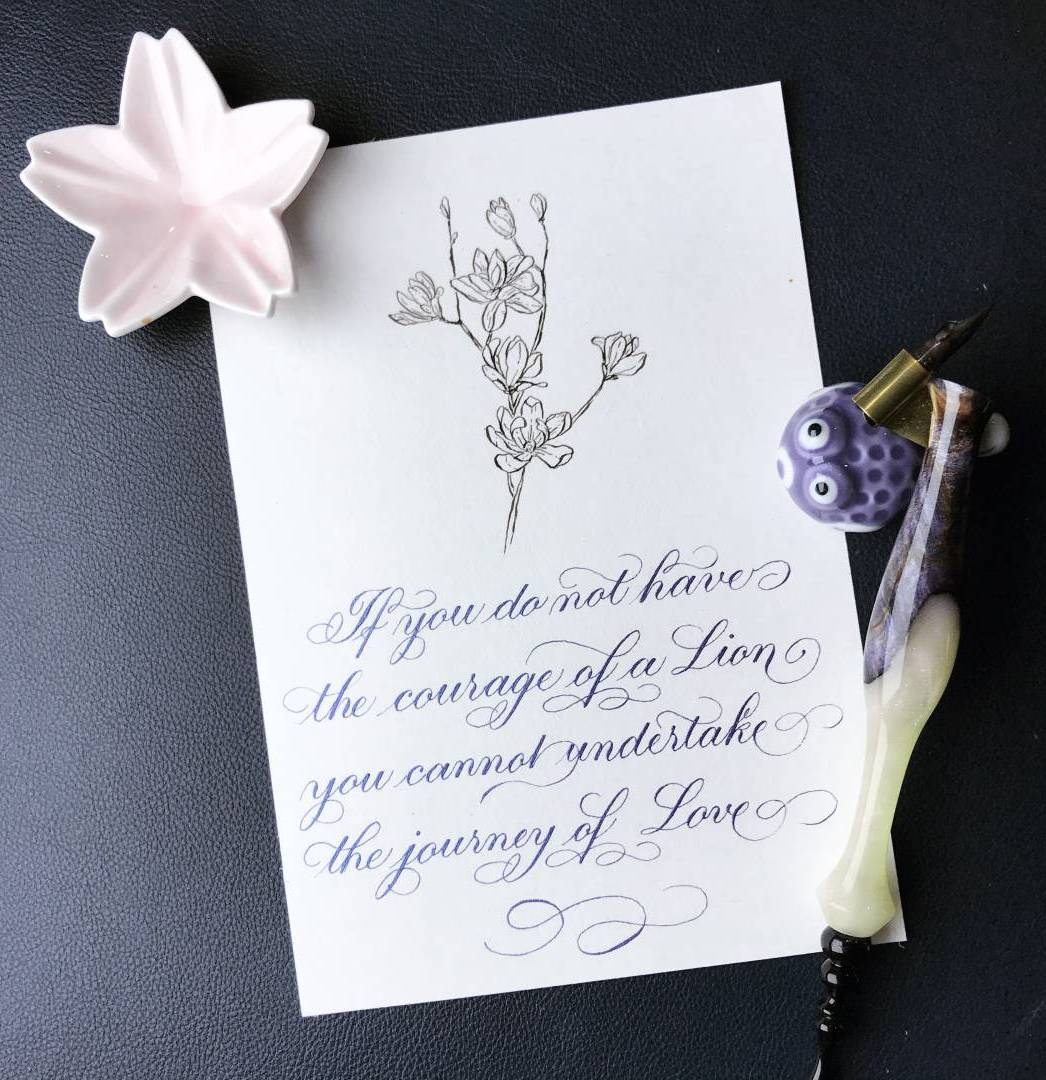 Learn All About Calligraphy Flourishing