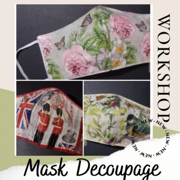 Learn How To Make Mask Decoupage