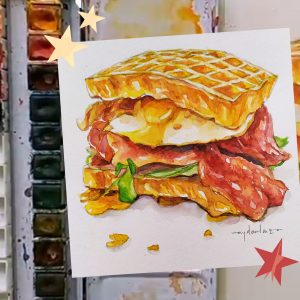 Learn How To Make Food Illustration