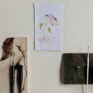 Learn Spring Flowers And Modern Calligraphy