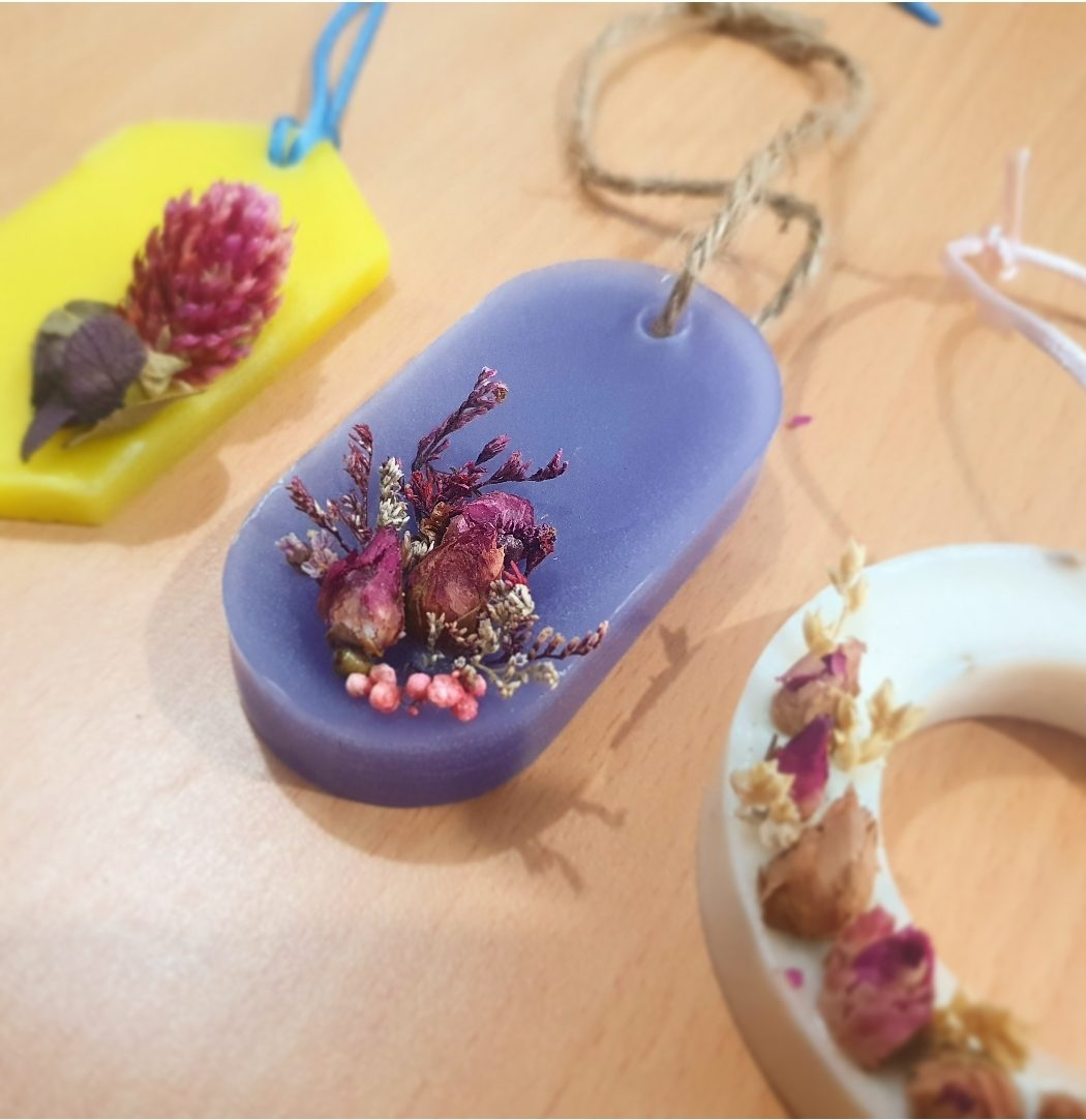 Learn How To Make Scented Wax Sachet